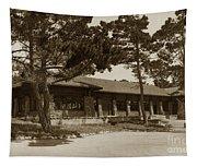 Phoebe A Hearst Social Hall Asilomar Pacific Grove Circa 1925 Tapestry