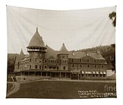 Phoenix Hotel Las Vegas Hot Springs New Mexico 1890 Tapestry