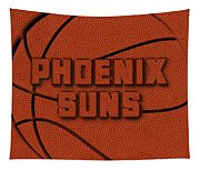 Phoenix Suns Leather Art Tapestry