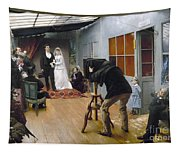 Photography Studio, C1878 Tapestry