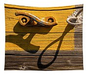Pi Theta Shadows - Dock Cleat And Rope Tapestry