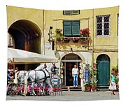 Piazza Anfiteatro Tapestry