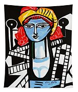 Picasso By Nora  Film Star Tapestry