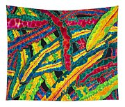 Picasso Paintbrush Croton Tapestry
