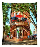 Pickel Barrel 2 Chattanooga Tennessee Cityscape Art Tapestry