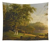 Picnic By The Lake Tapestry