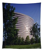 Corporate Woods Pie Building Tapestry