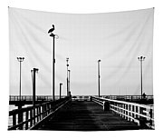 Pier And Pelican Tapestry