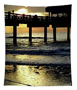 Pier Reflections Tapestry