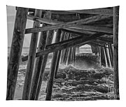 Pier Storm Tapestry