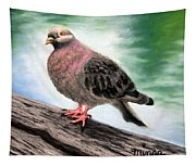Pigeon Toes Tapestry