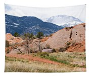 Pikes Peak From Red Rock Canyon Tapestry