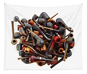 Pile Pipes Tapestry