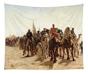 Pilgrims Going To Mecca Tapestry