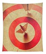 Pin Plane Darts Hitting Goals Tapestry