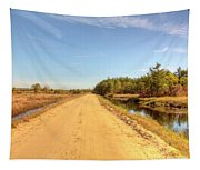 Pine Barrens Of New Jersey Cranberry Harvest Bogs  Tapestry