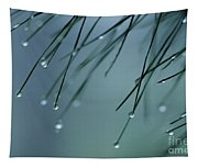 Pine Needle Raindrops Tapestry