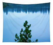 Pine On The River Tapestry