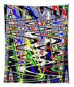 Pine Tree Abstract ,3448wt Tapestry
