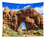 Pine Tree Arch Tapestry