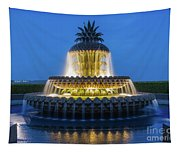 Pineapple Fountain Tapestry