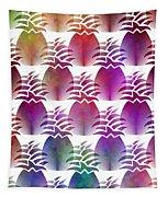 Pineapple Repeat Tapestry