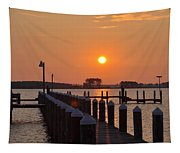 Piney Point Sunrise Tapestry