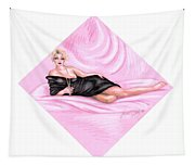 Pink Allure Tapestry