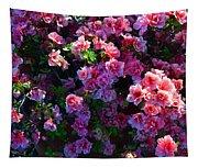 Pink Azaleas Tapestry