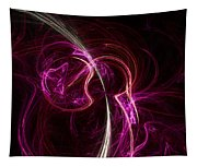 Pink Blume Tapestry