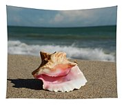 Pink Conch  Tapestry