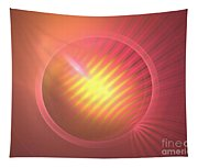 Pink Eclipse Tapestry