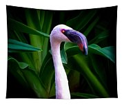 Pink Flamingo Bliss Tapestry