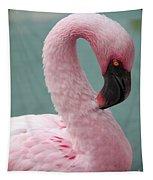Pink Flamingo Profile 2 Tapestry