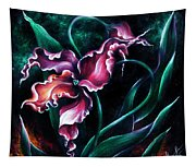 Pink Fuschia Orchid. Dance Of The Nature Tapestry