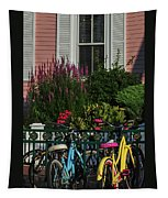 Pink House Bikes Cape May Nj Tapestry