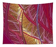 Pink Lines Tapestry