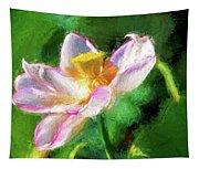 Pink Lotus Tapestry