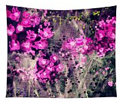 Pink Majestic Garden- Art By Linda Woods Tapestry