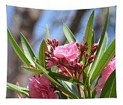 Pink Oleander IIi Tapestry