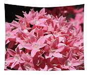 Pink Pentas Beauties Tapestry