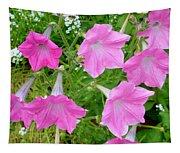 Pink Petunia Flower 9 Tapestry