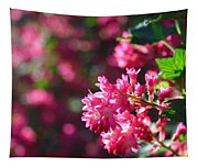 Pink Profusion 3 Tapestry