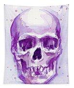 Pink Purple Skull Tapestry