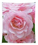 Pink Rose Cluster IIi Tapestry