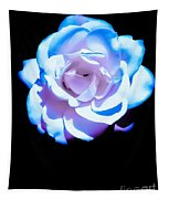 Pink Rose Has The Blues Tapestry