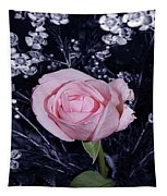 Pink Rose Of Imperfection Tapestry