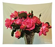 Pink Roses Bouquet 2 Tapestry