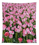 Pink Tulips- Photograph Tapestry