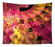 Pink Windows Tapestry